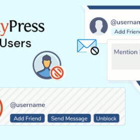 BuddyPress Block Users