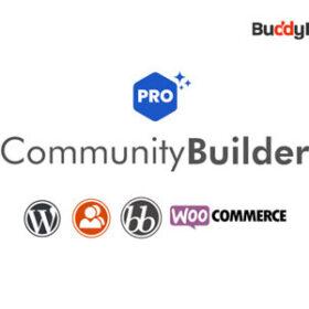 BuddyPress Community Builder Pro